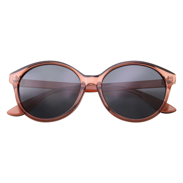 Women's Polarized Round Lens Everyday Fashion Sunglasses - grinderPUNCH
