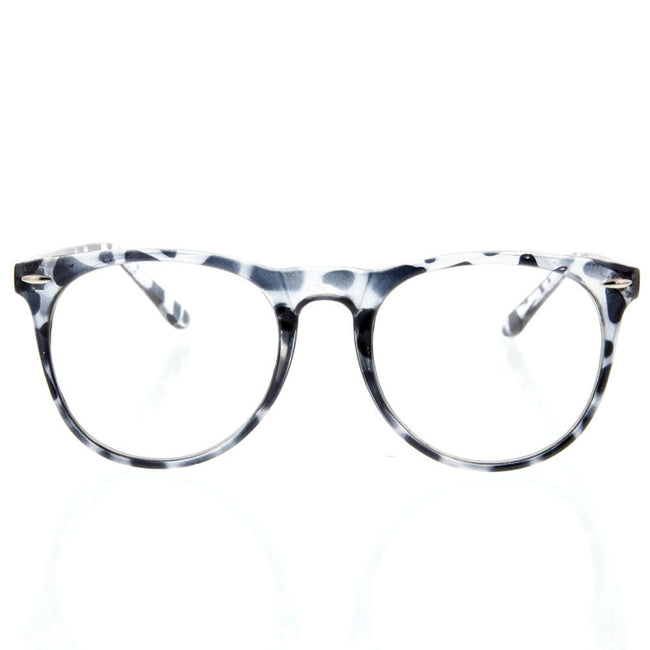 Vintage Clear Style Round Bottom Sunglasses Glasses Thin Frame - grinderPUNCH