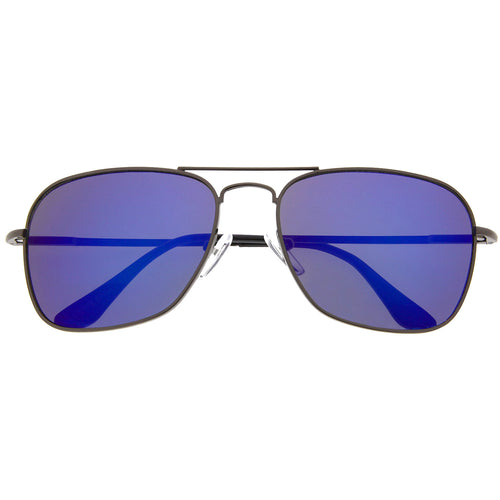 Rectangular Driving Mirror Lens Sunglasses - grinderPUNCH