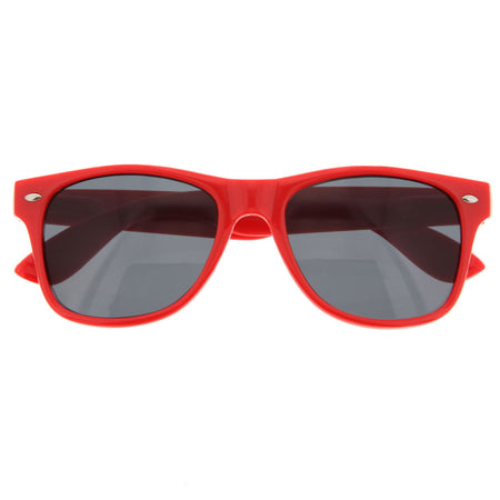 grinderPUNCH 10 Pack 80's Classic Neon Color Sunglasses