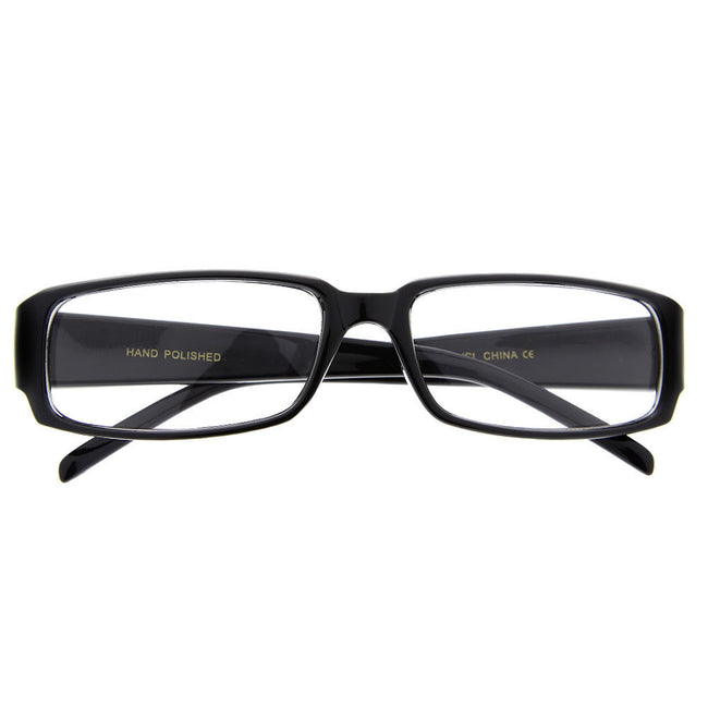Unisex Intelligent Clear Lens Glasses Fake Smart Glasses - grinderPUNCH