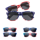 That's A Good Lincoln Family American Flag Sunglasses Bundle - grinderPUNCH
