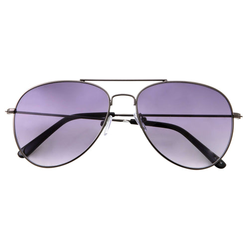 Oversize Classic Retro Metal Aviator Sunglasses - grinderPUNCH