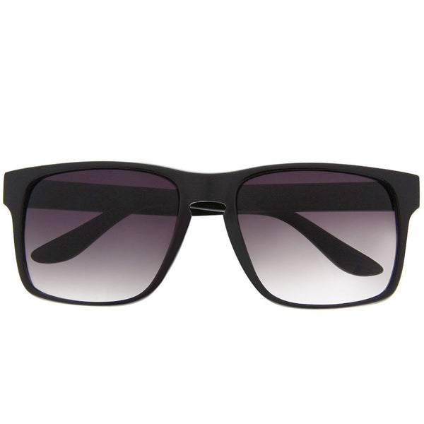 Wide Square Keyhole Frame Sunglasses - grinderPUNCH