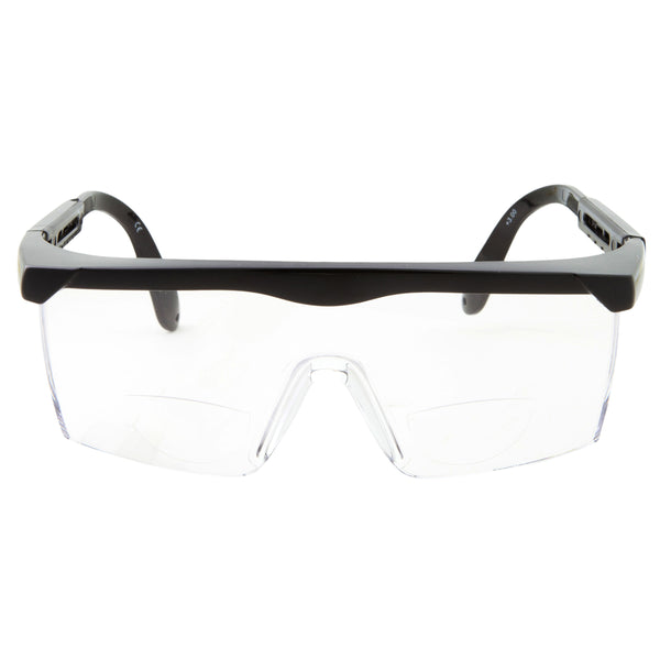 Bifocal Safety Glasses Clear Lens - grinderPUNCH