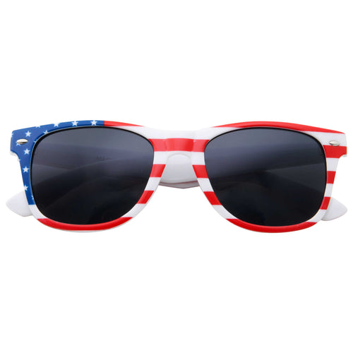 Classic American Flag Sunglasses - grinderPUNCH