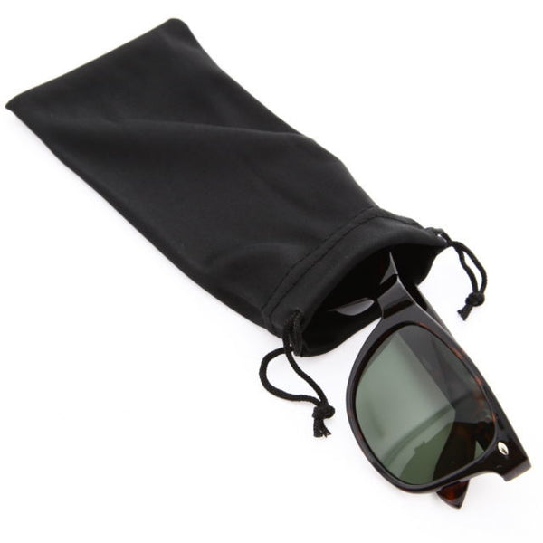 Sunglasses Bag Soft Cloth Dust Pouch Optical Glasses Carry Save Big - grinderPUNCH