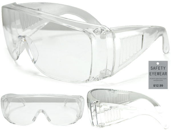 Protective Safety Glasses | Polycarbonate Impact Resistant Lens - grinderPUNCH