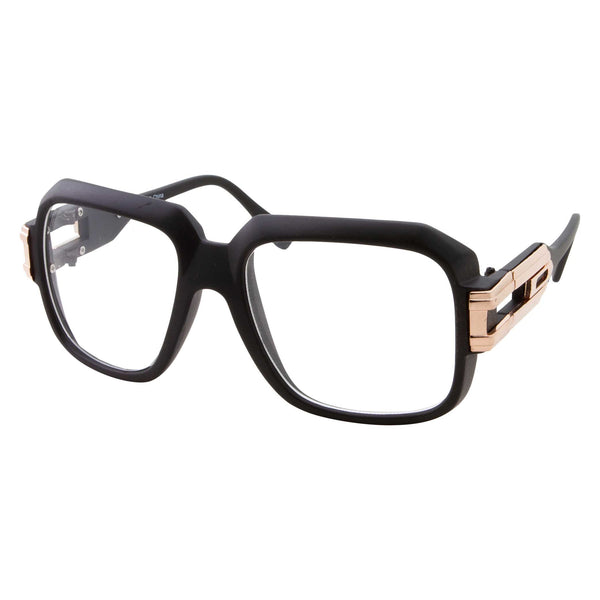 New Run DMC Style Oversized Square Clear Glasses - grinderPUNCH