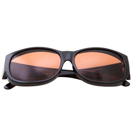 Mens Thick Flat Top Sunglasses Biker Shades Fashion Style Rapper Hardcore Square