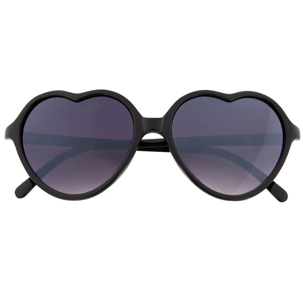 Thin Love Heart Shape Lolita Sunglasses - grinderPUNCH