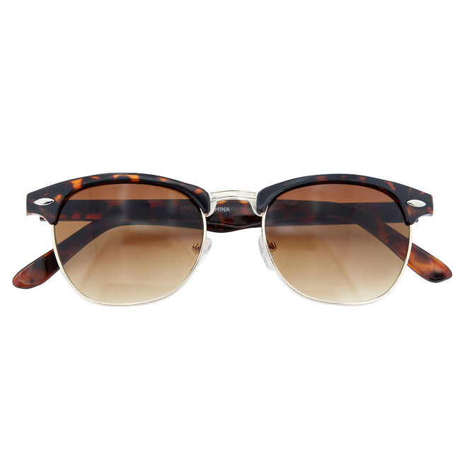Classic Vintage Inspired Sunglasses Fashion Hipster Nerd Horned Rim - grinderPUNCH