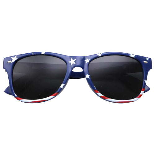 Stars and Stripes American Flag Sunglasses - grinderPUNCH