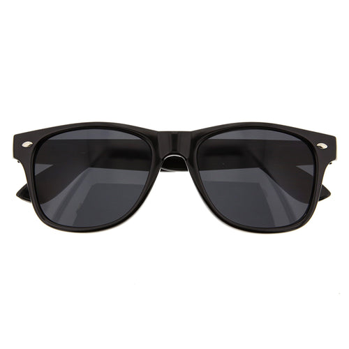 Black Classic Sunglasses - grinderPUNCH