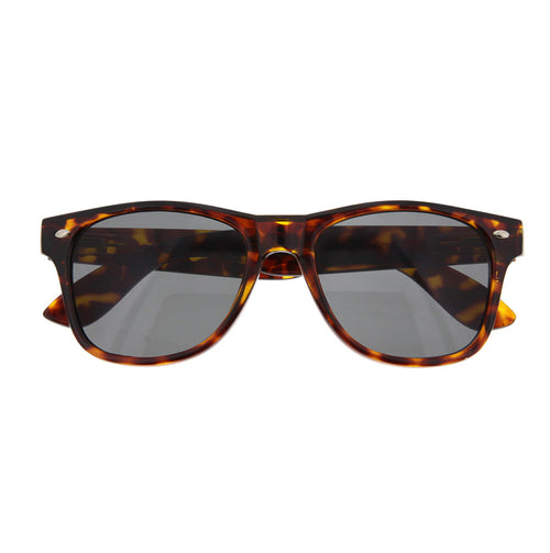 Retro Tortoise Sunglasses Shades 80S Vintage Fashion - grinderPUNCH