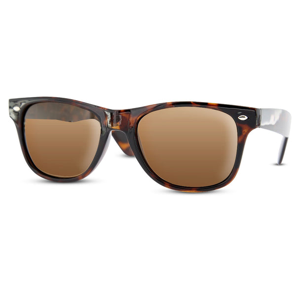 Polarized Retro Sunglasses Sunnies Vintage Classic Leopard Hipster Geek - grinderPUNCH
