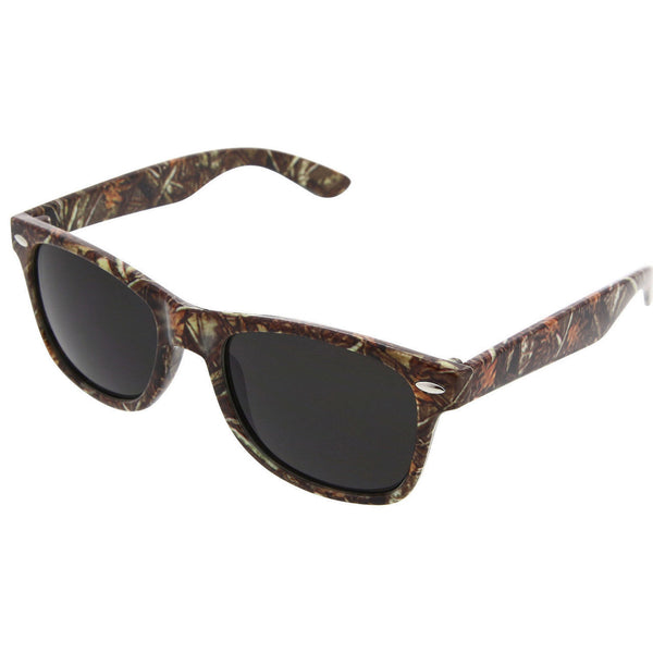 Outdoors Camo Sport Active Style Sunglasses Camouflage - grinderPUNCH