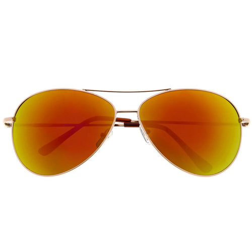 Oversized Large Color Mirrored Aviator Sunglasses - grinderPUNCH