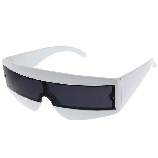 Cyclops Futuristic Party Sunglasses - grinderPUNCH
