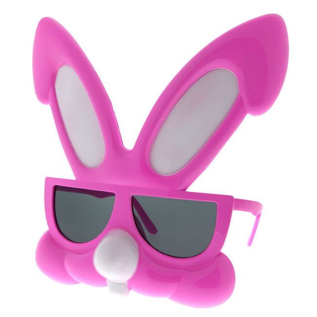 Rabbit Party Costume Sunglasses Bunny Animal Furries Easter Egg Hunt Novelty - grinderPUNCH
