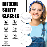 Bifocal Protective Safety Glasses - grinderPUNCH