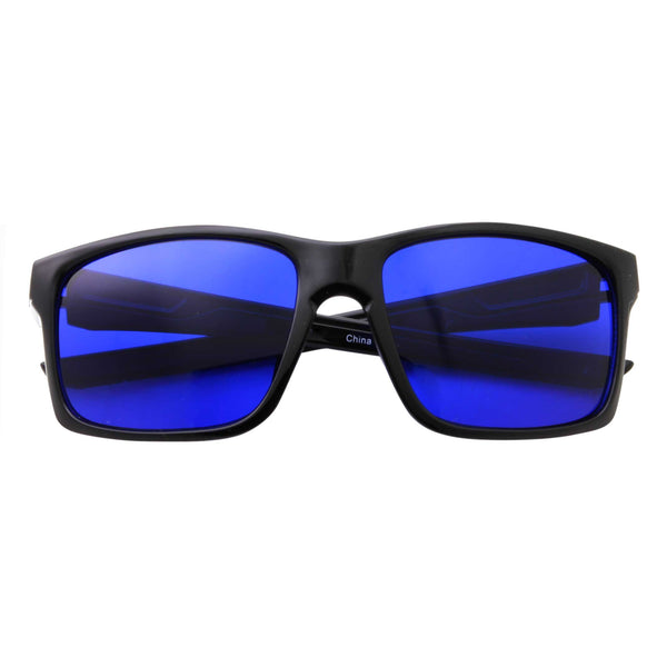 Mens Action Sports Rectangle Sunglasses - grinderPUNCH