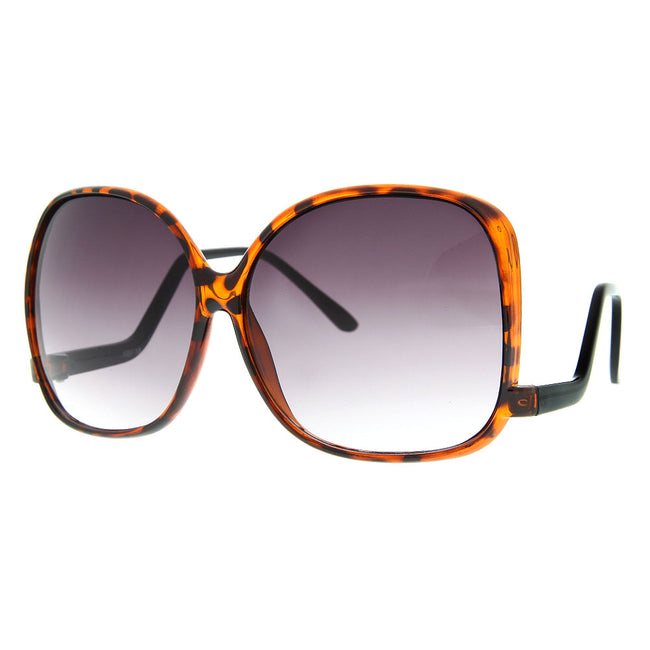 Women's Oversized Large Designer Inspired Square Sunglasses - grinderPUNCH