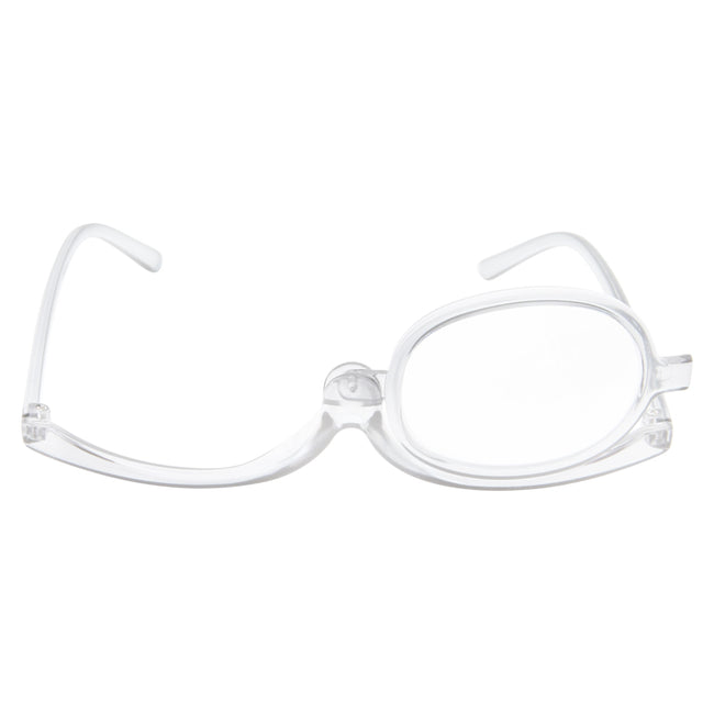 Womens Folding Reading Make Up Flip Up Eye Glasses - grinderPUNCH