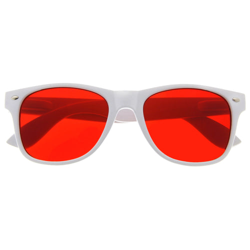 Classic Style Color Lens Sunglasses - grinderPUNCH