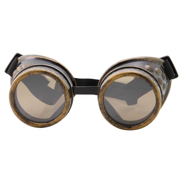 Steampunk Cosplay Goggles Biker Motocross Sunglasses - grinderPUNCH