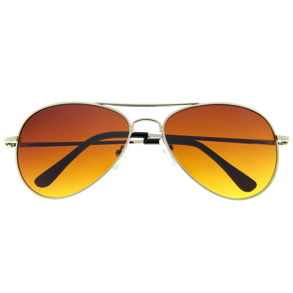 Classic Aviator Blue Blocking Sunglasses - grinderPUNCH