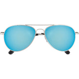 Classic Aviator Mirrored Sunglasses - grinderPUNCH