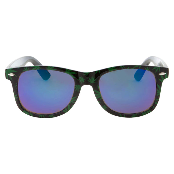 Square Ganja Bud Pot Weed Fun Party Sunglasses - grinderPUNCH