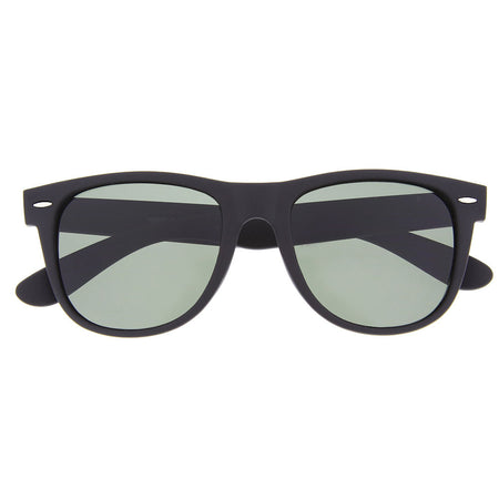 Vintage Clear Style Round Bottom Sunglasses Glasses Thin Frame ...