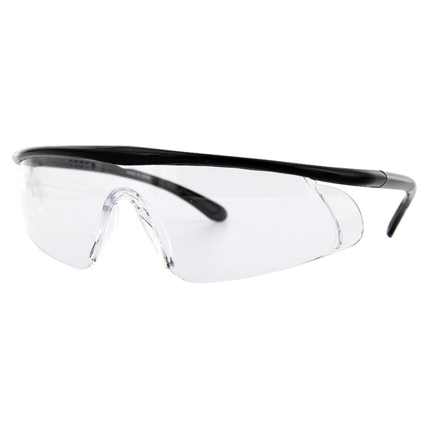 Full Width Safety Glasses Sunglasses Clear Eye Protection Adjustable - grinderPUNCH