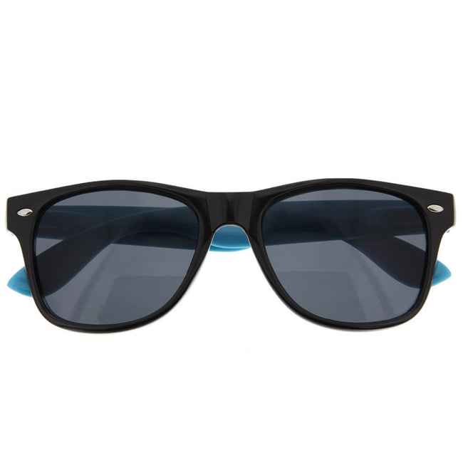 Classic Vintage Retro Two Tone Hipster Sunglasses - grinderPUNCH