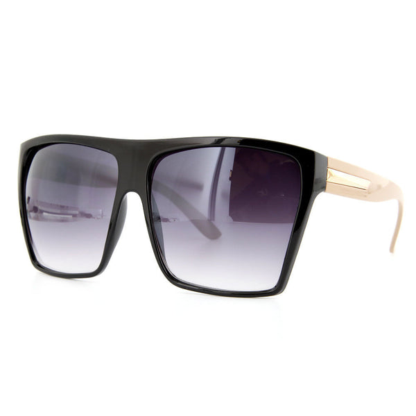 Flat Top Oversized Square Sunglasses - grinderPUNCH