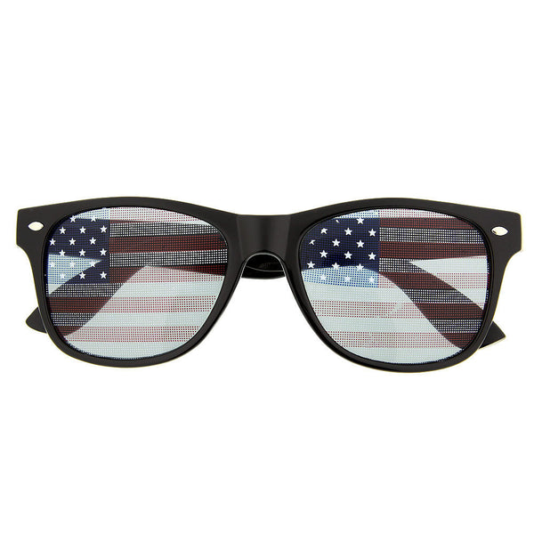 American Flag Party Novelty Sunglasses - grinderPUNCH