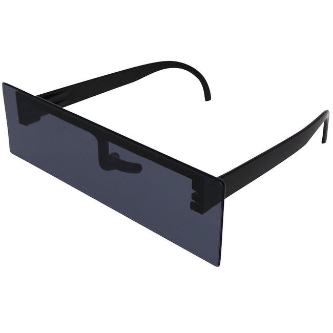 Internet Black Bar Party Costume Sunglasses - grinderPUNCH