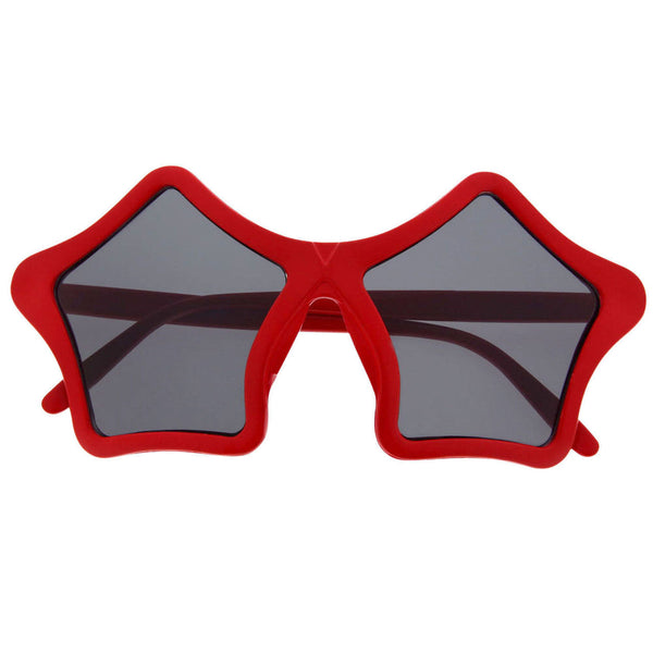 Star Shaped Sunglasses Shades Super Sunnies Novelty Party Fun - grinderPUNCH