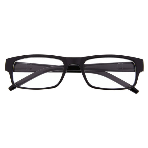 Slim Rectangle Clear Fashion Glasses - grinderPUNCH