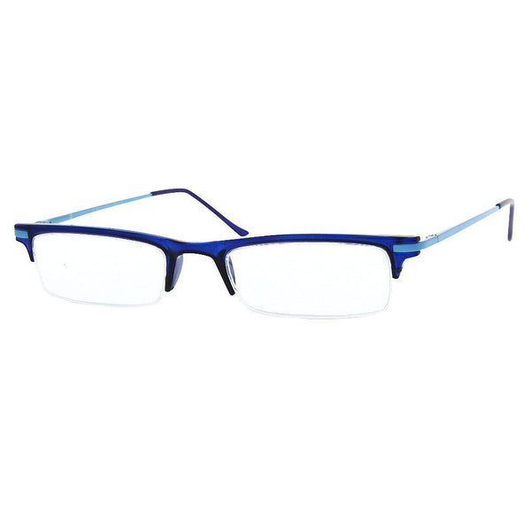Unisex Ultra Low Profile Reading Glasses Readers Multiple Strengths Modern Style - grinderPUNCH