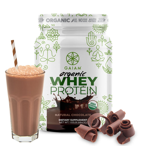 Organic Whey Protein Chocolate 1lb