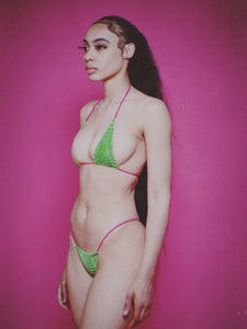 Croc Kini in Green