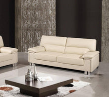 Load image into Gallery viewer, 2 PCS BEIGE SOFA AND LOVESEAT #9399GU