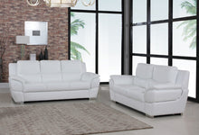 Load image into Gallery viewer, 2PCS WHITE SOFA AND LOVESEAT #4572GU