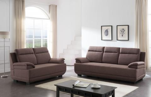 LOVESEAT 8018F-BRN-2