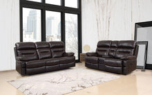 Load image into Gallery viewer, 2PCS BROWN SOFA AND LOVESEAT #9442GU