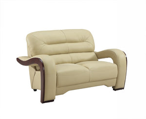 2 PCS BEIGE SOFA AND LOVESEAT #992