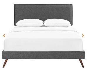 QUEEN BED FRAME MOD-5904-GRY